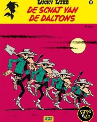 Lucky Luke - Relook 48 - De schat van de Daltons