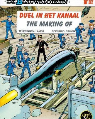 Blauwbloezen 37 Duel in het kanaal