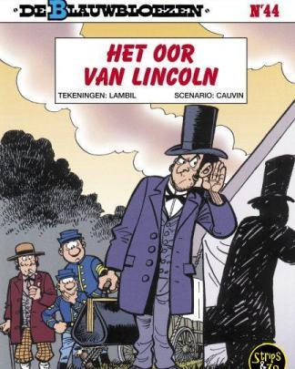 Blauwbloezen 44 Het oor van Lincoln
