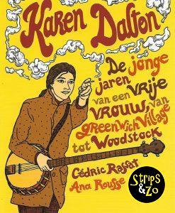 Karen Dalton - De jonge jaren van een vrije vrouw