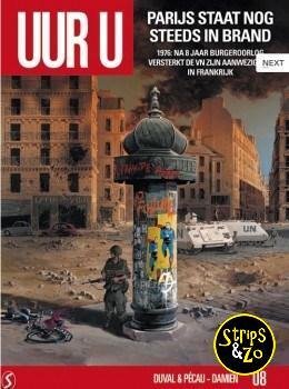 Uur U 8 - Parijs staat nog steeds in brand