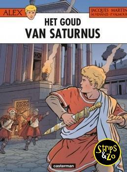 Alex 35 - Het goud van Saturnus