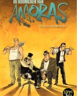 Kronieken van Amoras, de 1 - De zaak Krimson #1