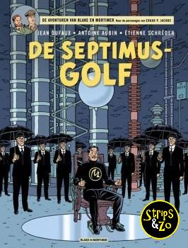 Blake en Mortimer 22 - De Septimus-Golf