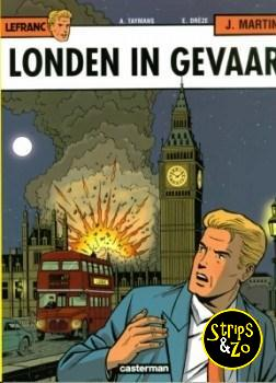 Lefranc 19 - Londen in gevaar