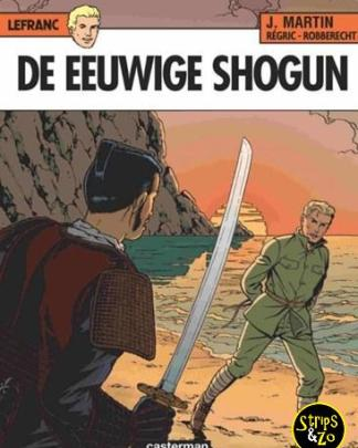 Lefranc 23 - De eeuwige Shogun