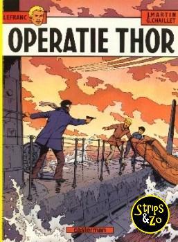 Lefranc 6 - Operatie Thor