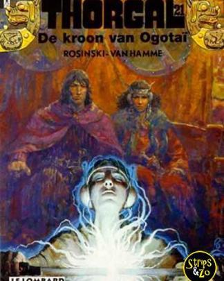 Thorgal 21 - De kroon van Ogotaï