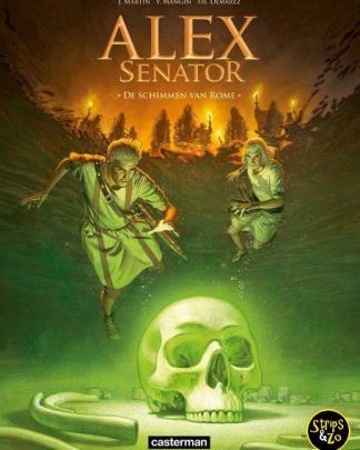 Alex - Senator 9 - De schimmen van Rome