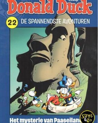 donald duck spannendste avonturen 22 Het mysterie van het Paaseiland