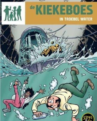 Kiekeboes 155 - In troebel water