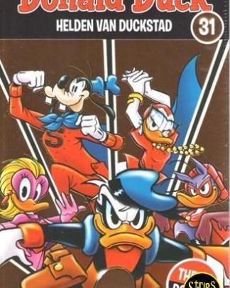 donald duck themapocket 31 Helden van Duckstad