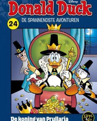 donald duck spannendste avonturen 24 Koning van Prullaria