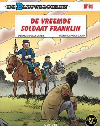 Blauwbloezen 61 – De vreemde soldaat Franklin