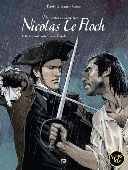 De Onderzoeken van Nicolas Le Floch 3 Het Spook van de Rue Royale