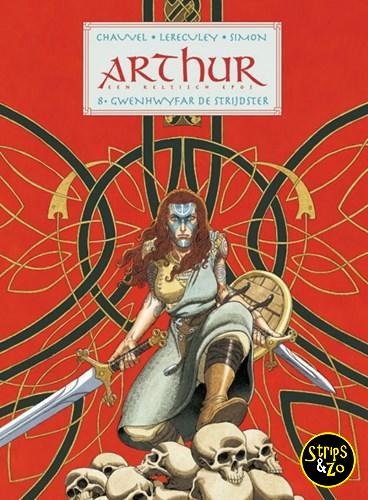 Arthur 8 Gwenhwyfar de Strijdster