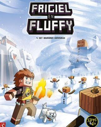 Frigiel en Fluffy 4 Het bevroren koninkrijk