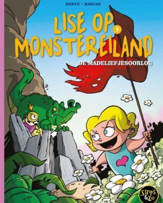 Lise op Monstereiland 3 De Madeliefjesoorlog