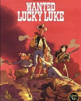 Lucky Luke Door... 4 Wanted