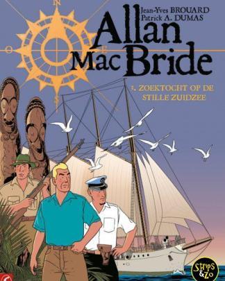 Allan Mac Bride 3 Zoektocht in de Stille Zuidzee