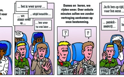 Strips voor Weekly Break