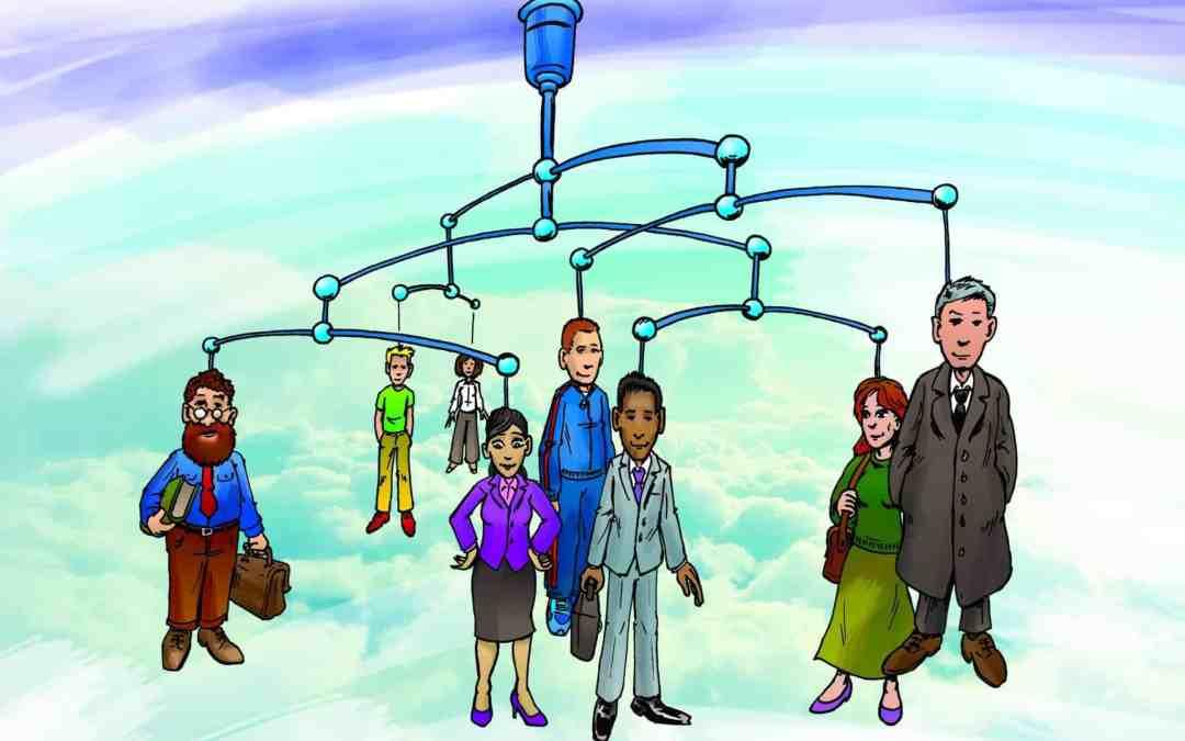 Illustratie netwerk specialisten CNVO
