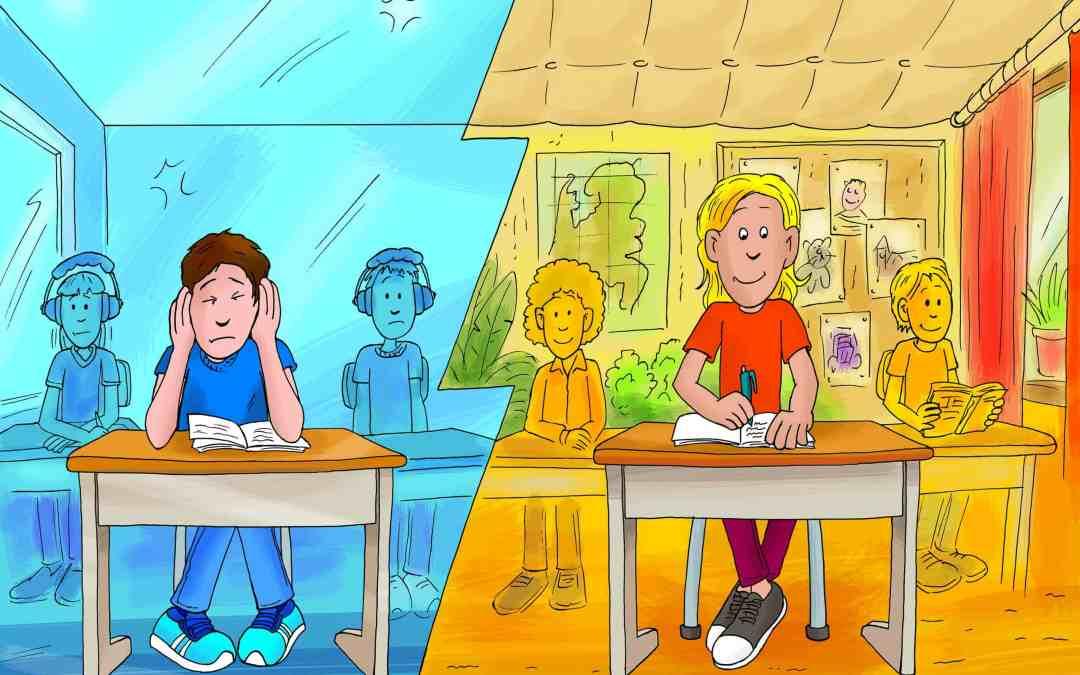 Akoestiek in de schoolklassen