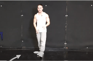 Male Stripper Dance Moves - Triangle Glide