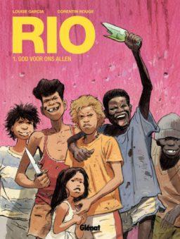 Rio 1, Strip, Stripboek, God voor ons allen, Rouge, Garcia, Glenat, Kopen, Bestellen