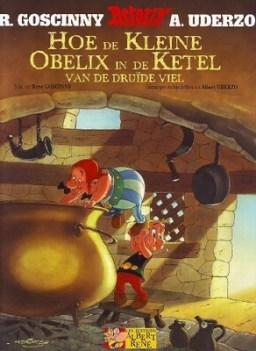 Kleine Obelix, Asterix, AsterixBR, Buiten reeks, Hoe de Kleine Obelix in de ketel van de druide viel, Hoe de Kleine Obelix, Beproeving, Obelix, Kopen, Bestellen, strip, stripboek, stripwinkel