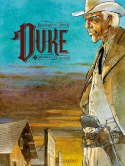 Duke 1, Modder en Bloed, Strip, Stripboek, Stripverhaal, album, softcover, kopen, bestellen
