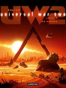 Universal War Two, Exodus, Bajram, Strip, Stripboek, Stripverhaal, Kopen, Bestellen
