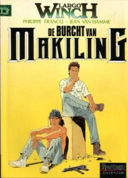 Largo Winch 7, De burcht van Makiling, 9789031418046