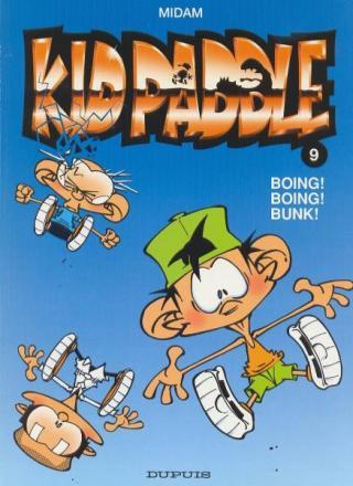 Kid Paddle 9, Boing Boing Bunk, 9789031425624