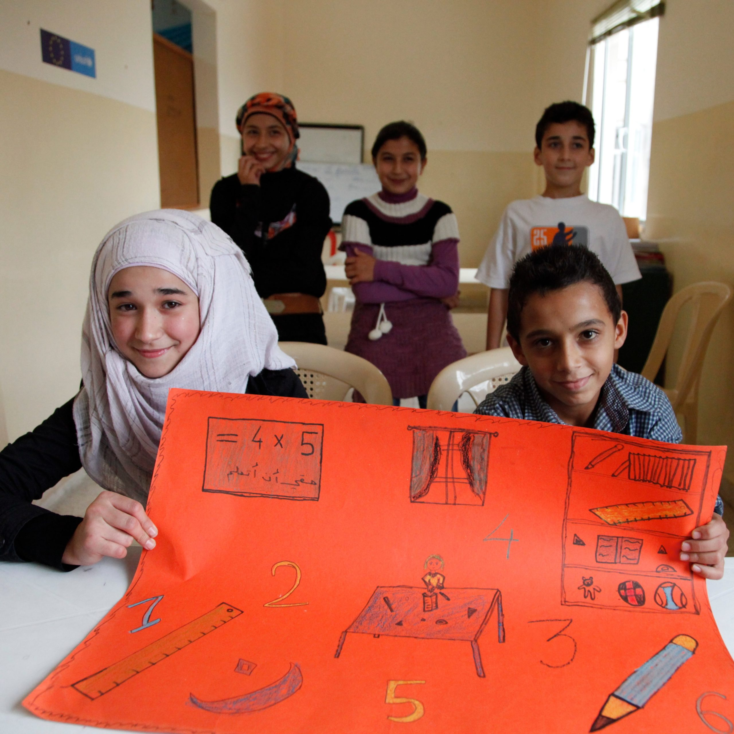 Working with Warchild and UNICEF to get Syrias children back to school in Lebanon