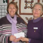 Strive Receives a Donation from Cessnock Quilters