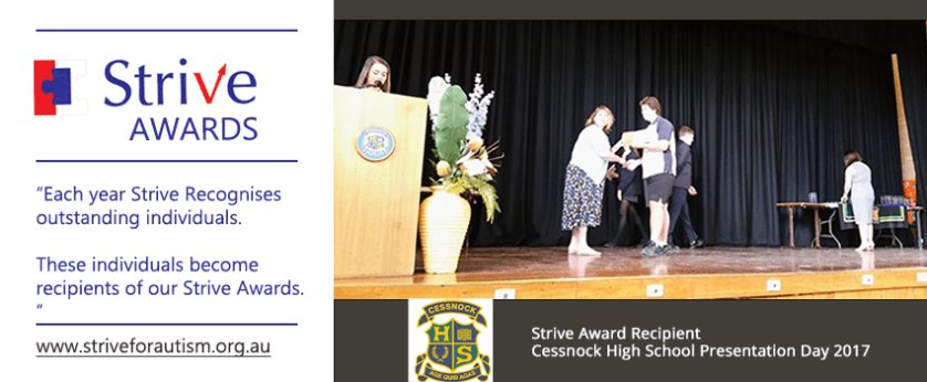 Cessnock High School Strive Award