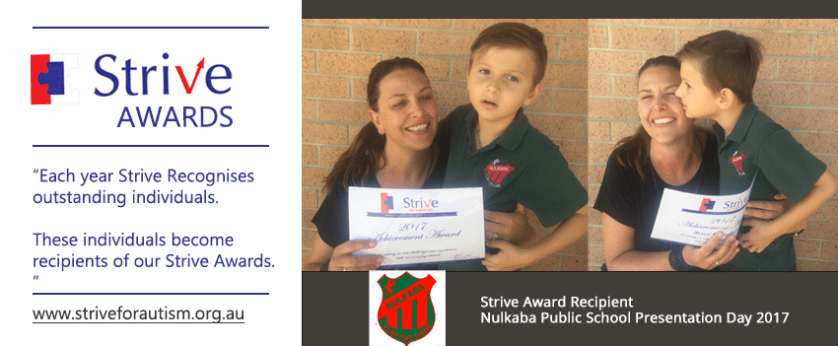 Nulkaba Public School Strive Awards