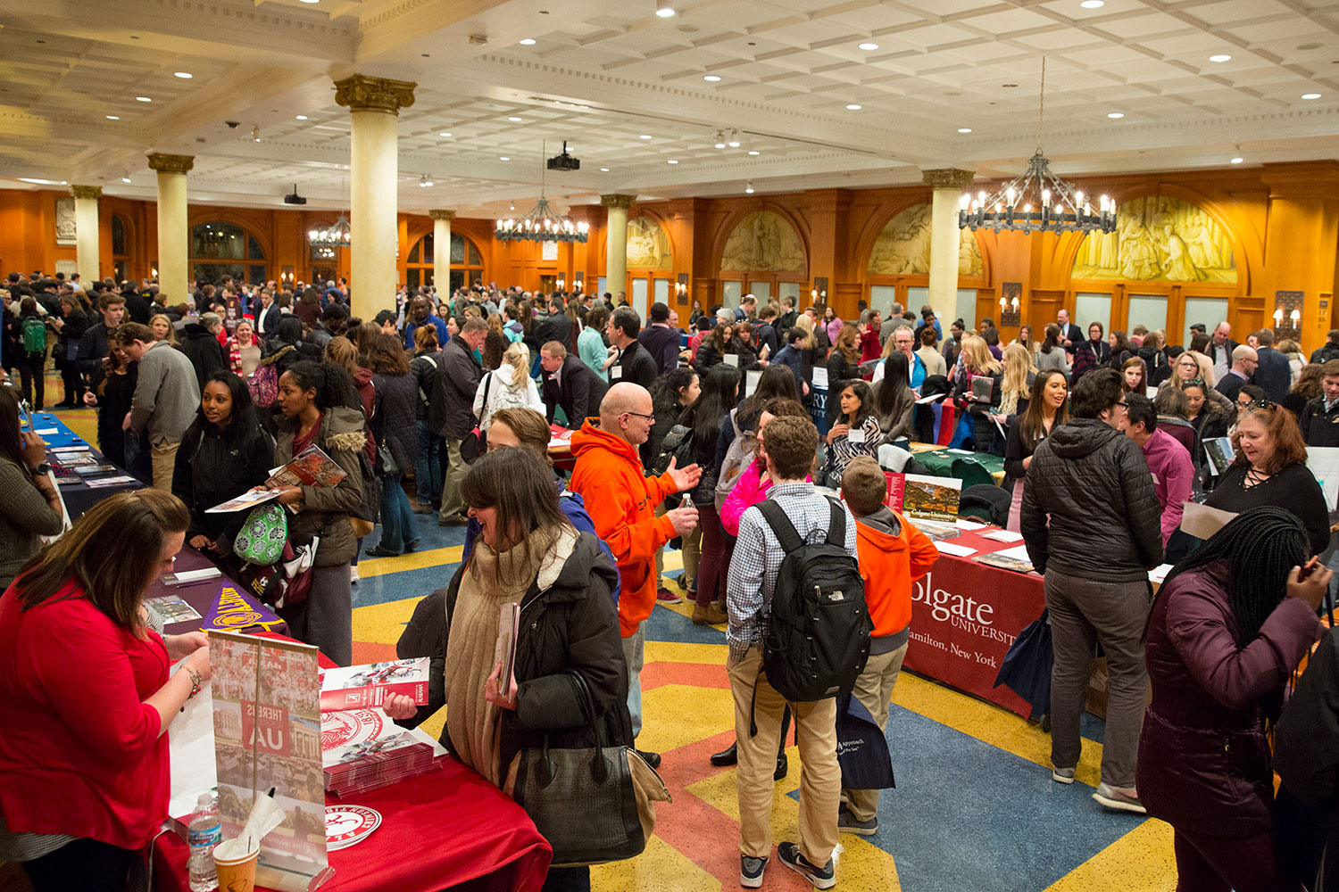 Saint Ignatius College Prep Fair Continues After Snow Days