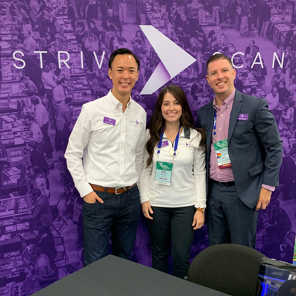 StriveScan team at NACAC Conference 2019