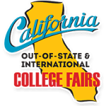 California Out-of-State & International College Fairs Logo