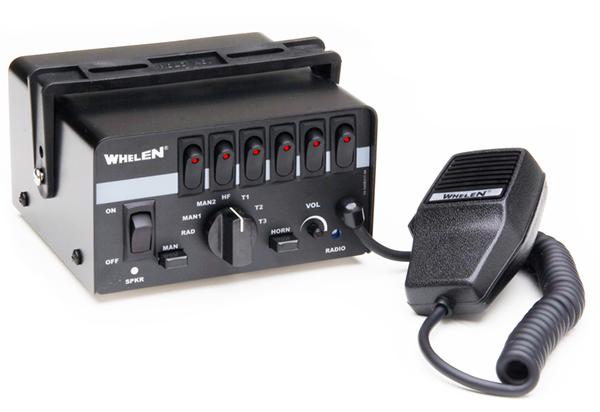 whelen epsilon™ siren with 6 function switchbox  strobesnmore