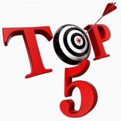 Top 5 Problemas na Contingência