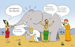 A Covid-19 o Elefante os Cegos