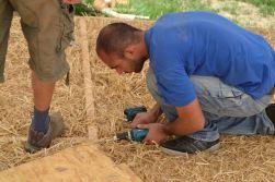 Manolis Ximeris, Earth plaster, Lime plaster