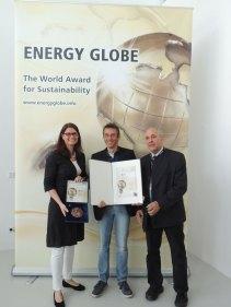 Herbert Gruber bei der Energyglobe-Verleihung