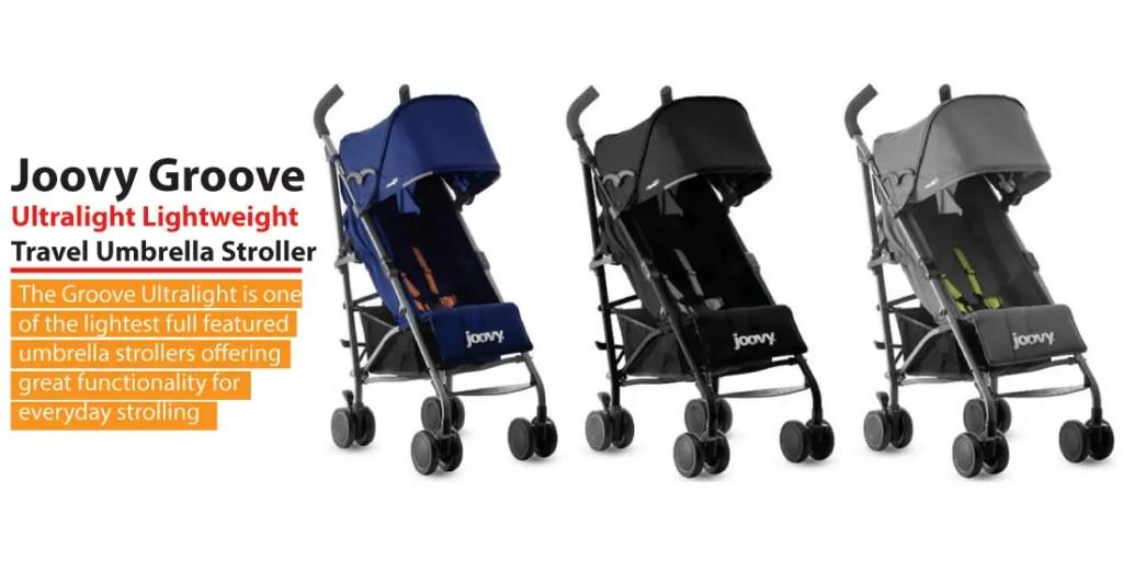 Joovy Groove Lightweight Travel Umbrella Stroller Review