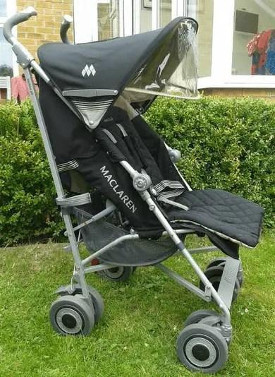 Maclaren Stroller Car Seat Adapter Bar