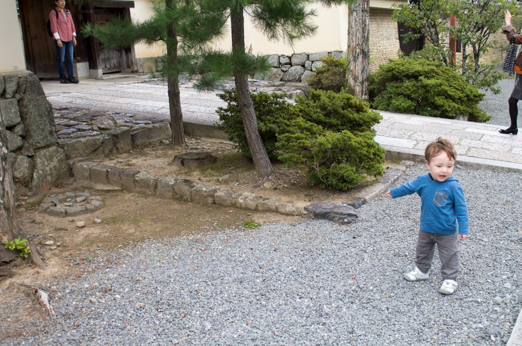 Kyoto with a toddler