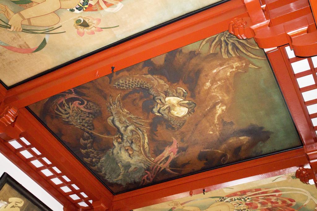 Sensoji ceiling